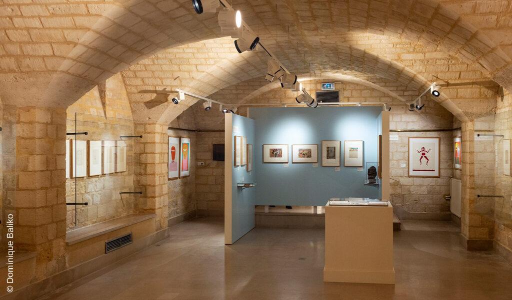Salle d'exposition MAHHSA © Dominique Baliko